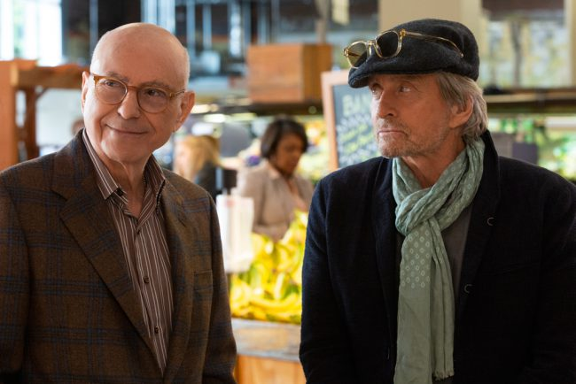 From creator Chuck Lorre comes the new comedy series The Kominsky Method, starring Michael Douglas as a once famous actor, and Alan Arkin as his longtime agent, Norman Newlander. The two friends tackle life's inevitable curveballs as they navigate their later years in Los Angeles, a city that values youth and beauty.