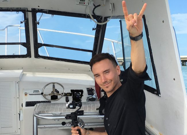 On January 31, 2017, Rob went missing during a dive in Florida off the coast of Islamorada. His body was found three days later. This is the last photo taken of him.