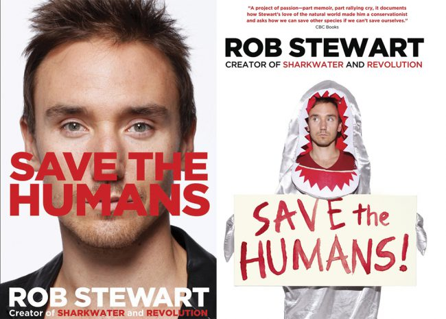 In 2007, Rob's first book, Sharkwater: An Odyssey to Save the Planet, was published. The hardcover coffee table book features many of Rob's best underwater photos taken while filming his first movie. Rob's second book, a memoir titled Save the Humans(pictured here in hardcover and paperback), in which he details his journey from childhood through […]
