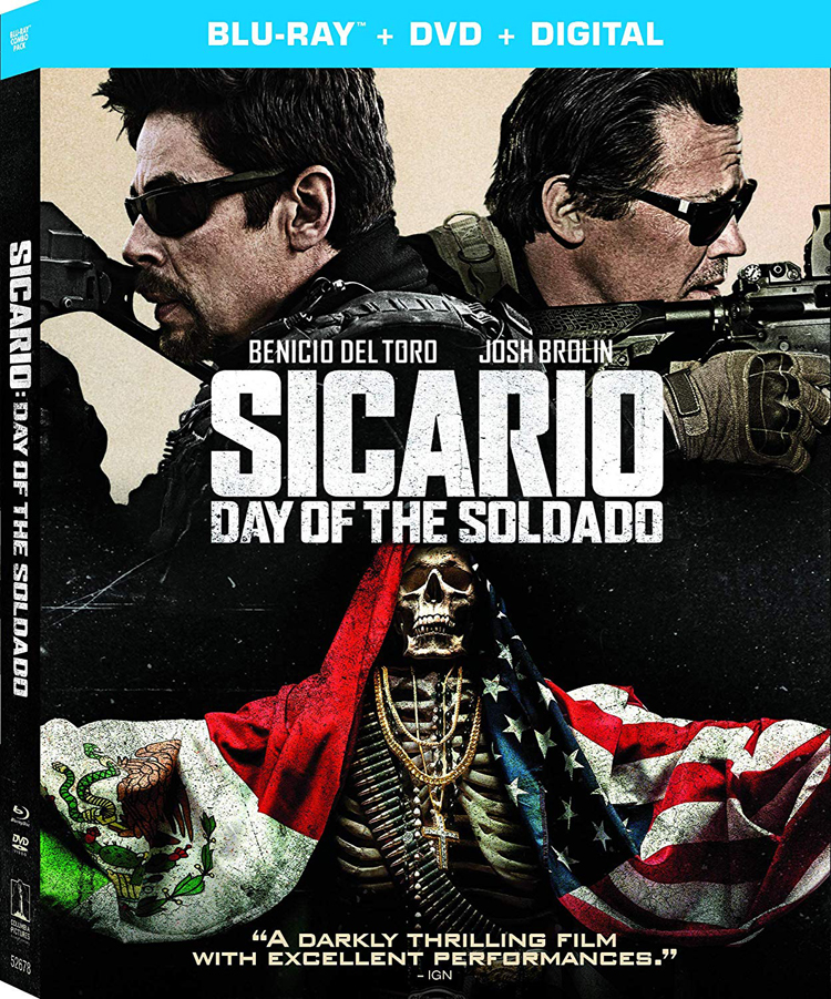 Sicario: Day of the Soldado on Blu-ray and DVD