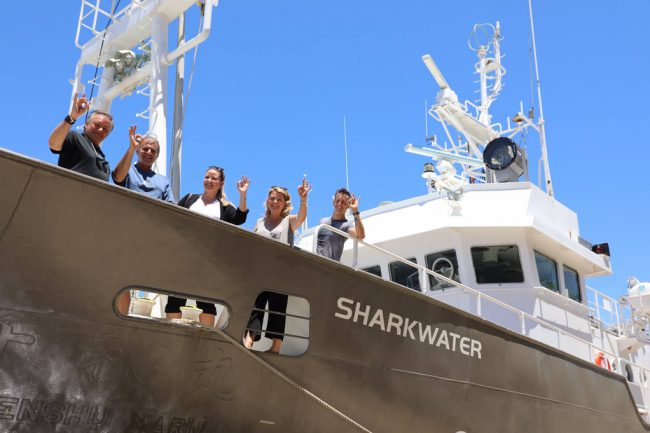 On July 27, 2017, a research and expedition vessel was named the Sharkwater in Rob's honor. Rob's family, including his father Brian and mother Sandy, as well as his sister Alex, were on hand to christen the boat.