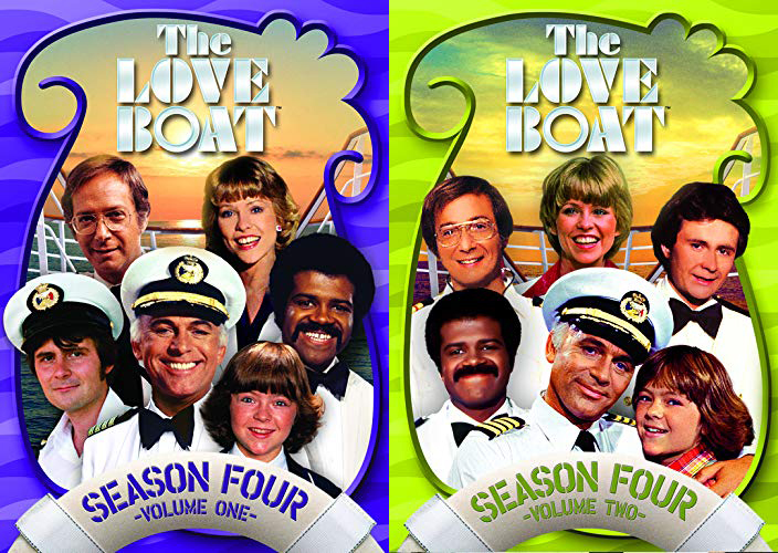 The Love Boat Season Four Vol. One and Two on DVD