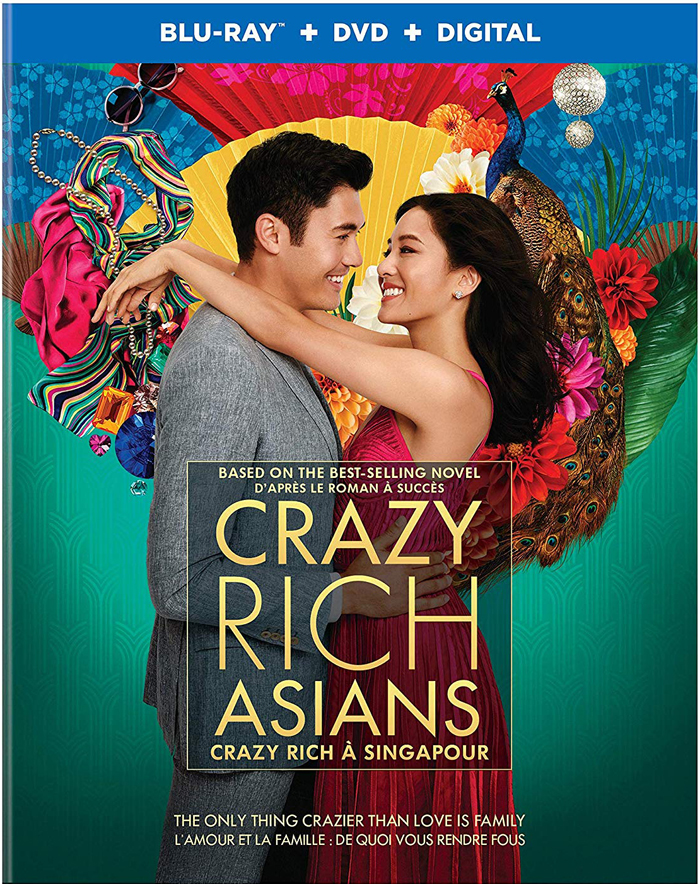 Crazy Rich Asians on Blu-ray and DVD