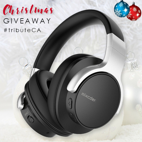 Mixcder E7 Active Noise Canceling Bluetooth over the ear Hi-Fi stereo wireless headphones
