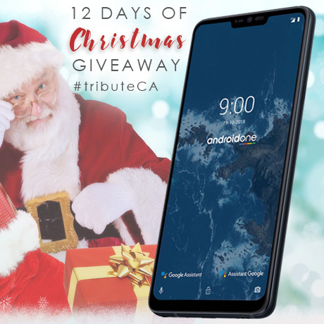 LG G7 One phone 12 Days of Christmas giveaway