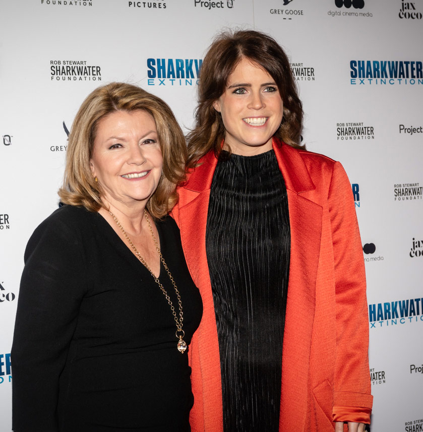 Sandy Stewart and Princess Eugenie of York
