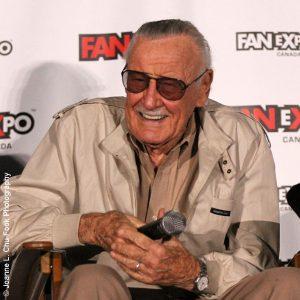 Stan Lee photo by Joanne L Chu-Fook