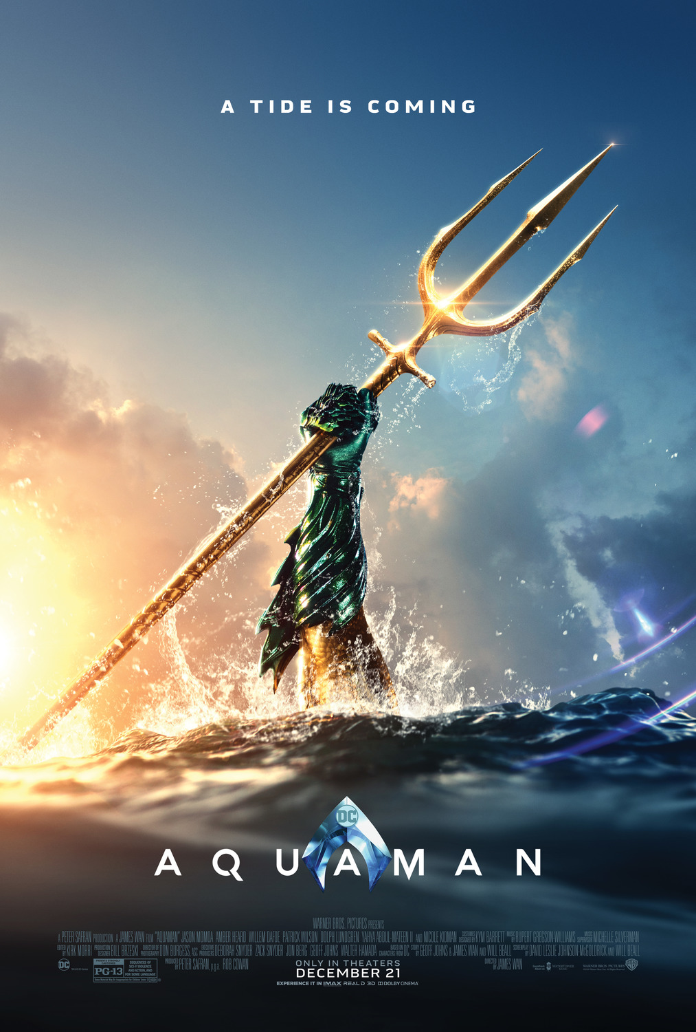 Aquaman tops box office second weekend
