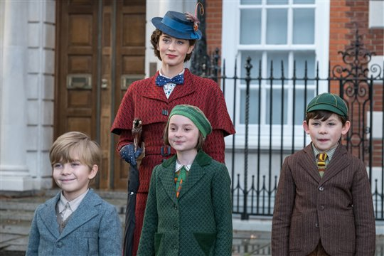 Mary Poppins Returns starring Emily Blunt