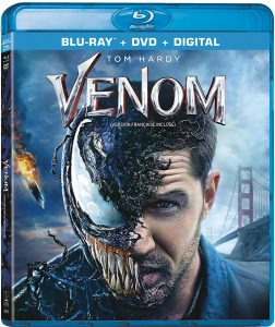 Venom now on Blu-ray