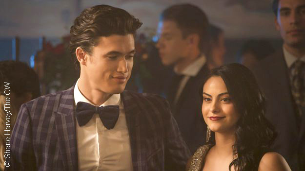Charles Melton and Camila Mendes in Riverdale