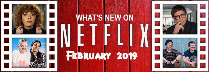 It's February—which means not only is Netflix offering romance for those who love Valentine's Day, but a slew of other original programming such as documentaries, comedies, sci-fi, and crime stories based on real events. Enjoy! ~Alexandra Heilbron