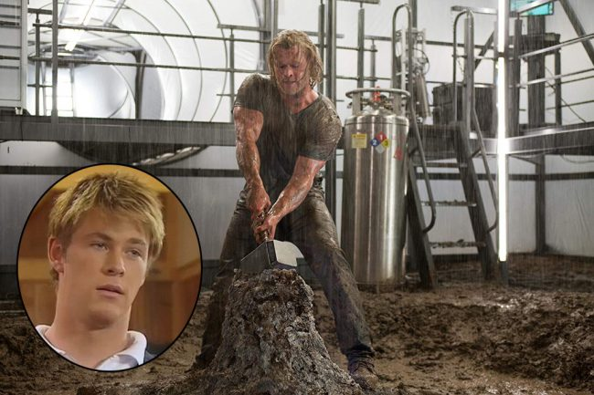 In North America, most first saw Chris Hemsworth as Thor, known for his rippling muscles and massive build. But Chris didn't always look like that. A tall young man at 6'2″, he had an average-sized build. He got his start with guest roles on Australian TV productions such as Neighbours and TheSaddle Club (inset). He […]