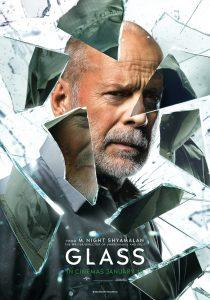 Glass starring Bruce Willis