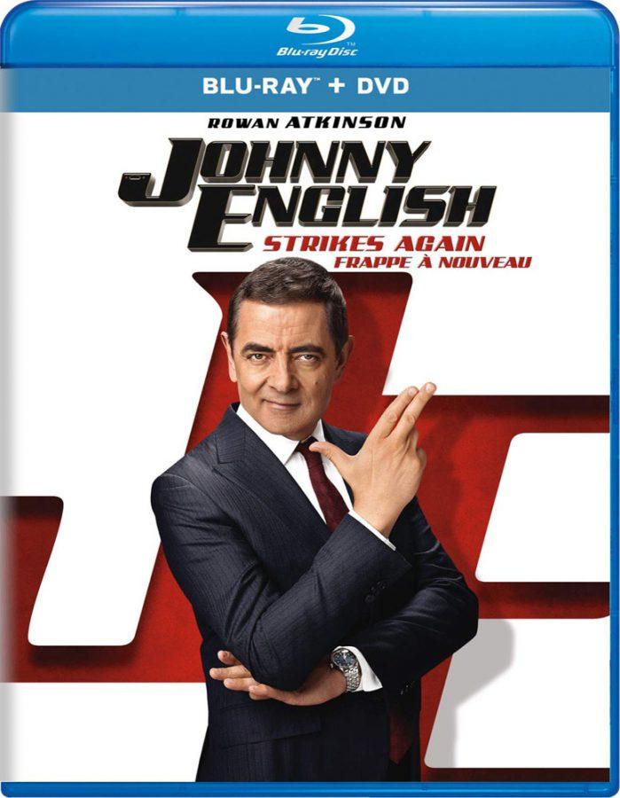 Johnny English Strikes Again Blu-ray