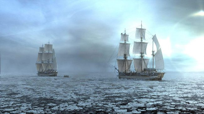 In 1848, the crews of two British Royal Naval warships, HMS Terror and HMS Erebus, find themselves fighting for their lives during an expedition to find the treacherous Northwest Passage when they become trapped in ice near the Arctic and face starvation, mutiny and cannibalism.