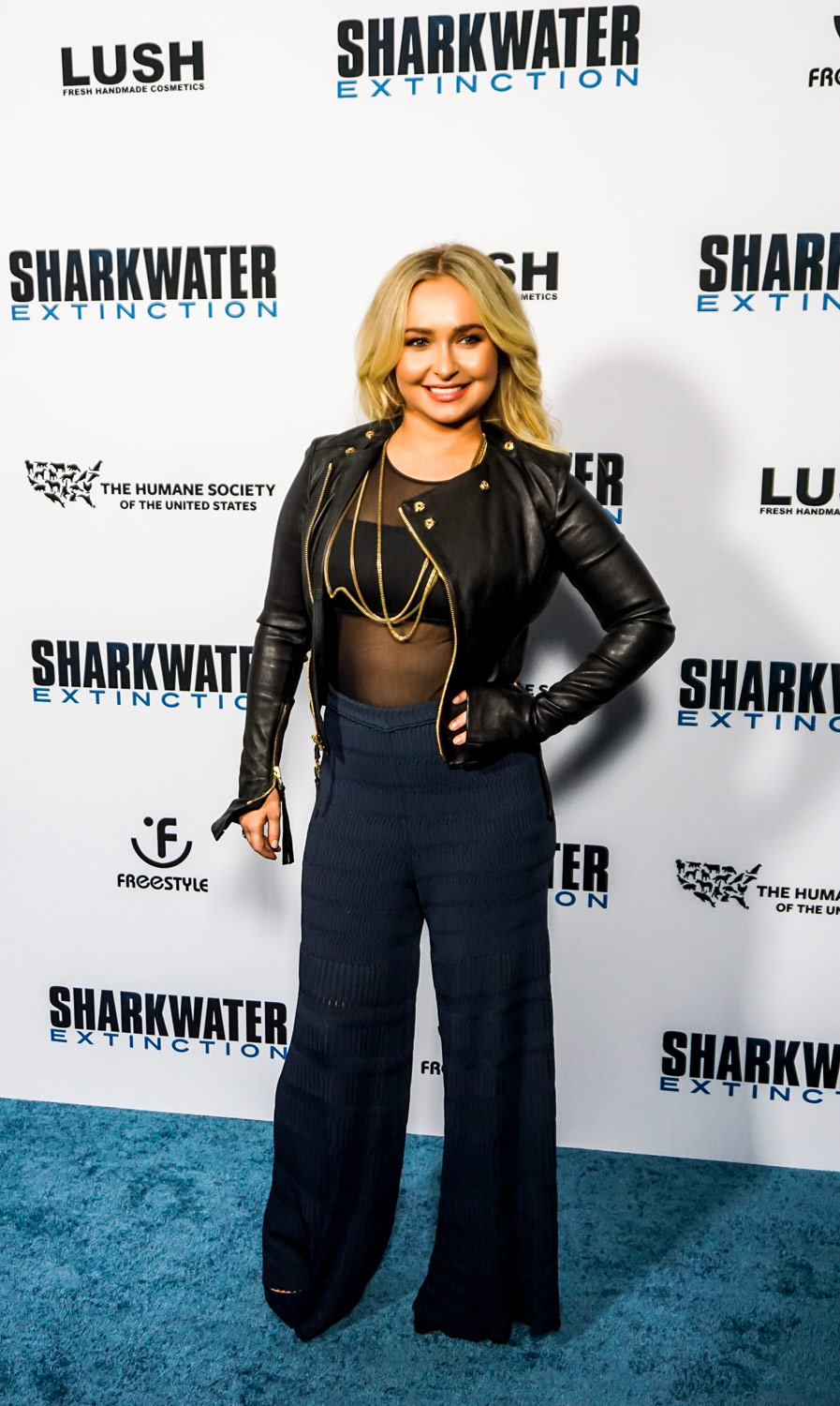 Hayden Panettiere at Sharkwater Extinction premiere