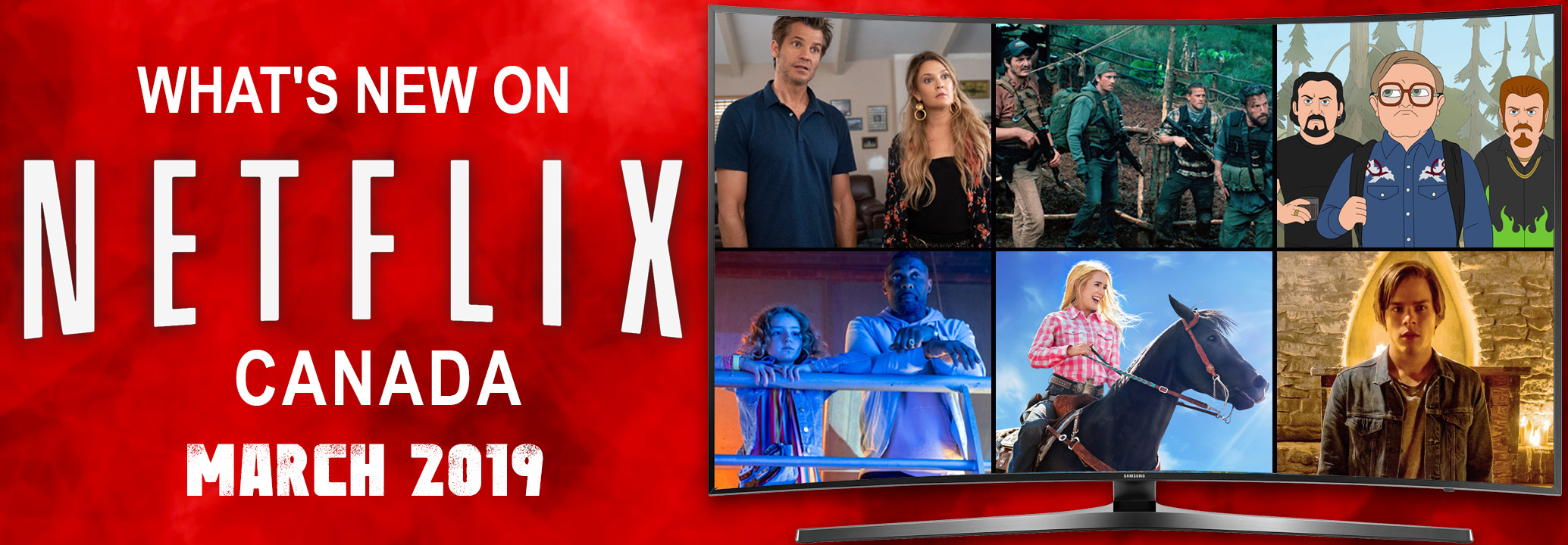 What's New on Netflix Canada March 2019