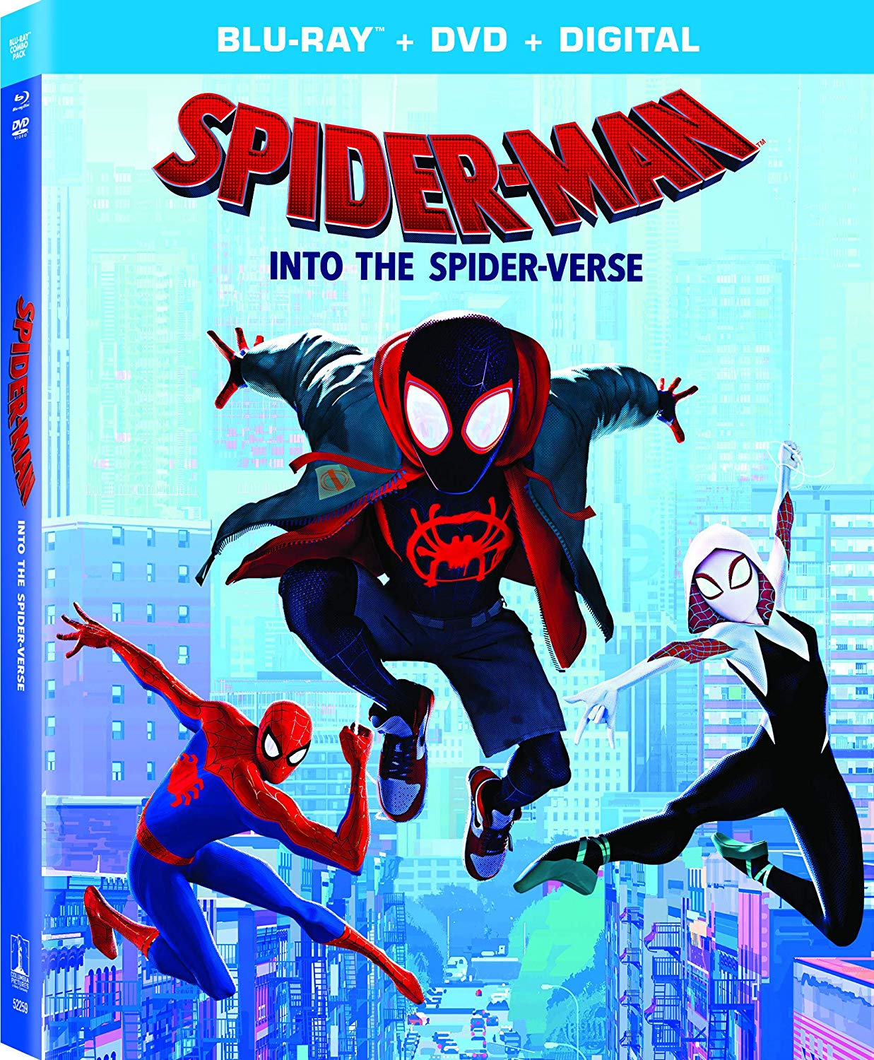 Spider-Man Into the Spider-Verse on Blu-ray