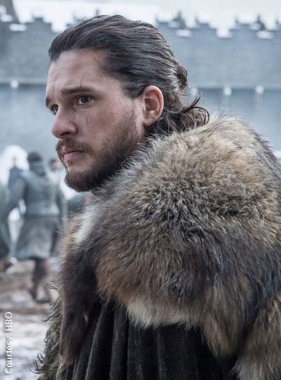 Kit Harrington in Game of Thrones. Photo: HBO