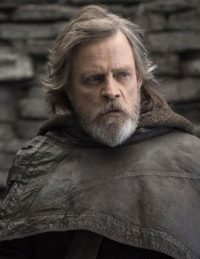 Mark Hamill in The Last Jedi