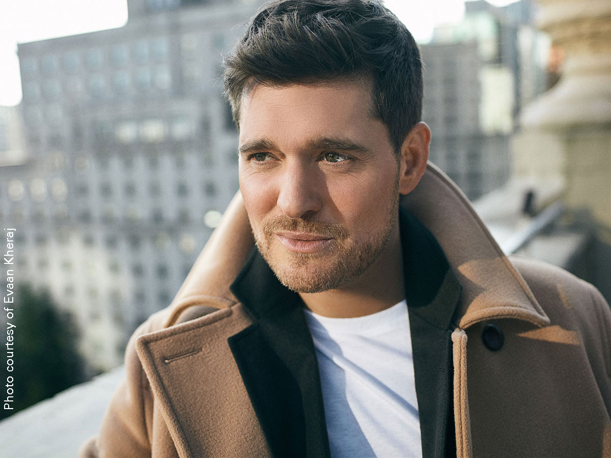 Michael Bublé photo courtesy Evaan Kheraj