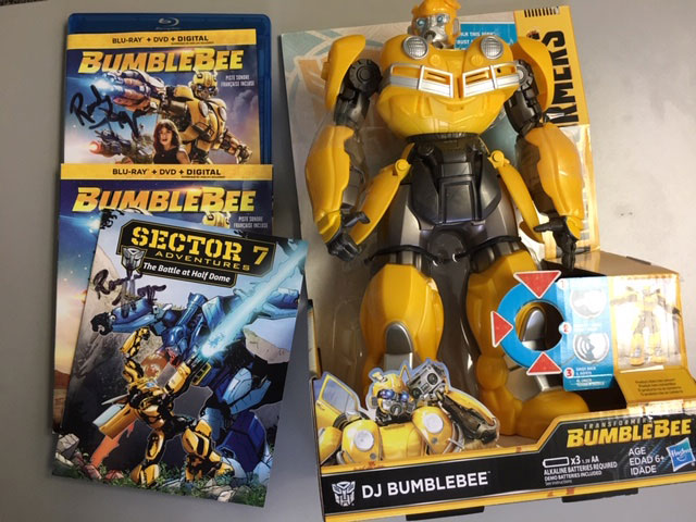 Bumblebee Prize Pack with autographed Blu-ray and Comic