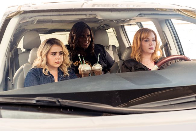 In the second season, three suburban moms (Christina Hendricks, Retta and Mae Whitman) who are best friends have to face the consequences of their criminal behavior.
