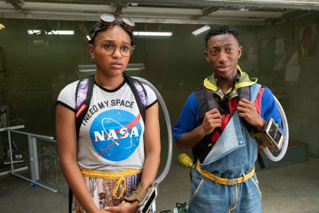 """Two Brooklyn teenage prodigies, Claudette """"C.J."""" Walker (Eden Duncan-Smith) and Sebastian Thomas (Dante Crichlow), build makeshift time machines to go back in time to save C.J.'s brother, Calvin (Astro), from being wrongfully killed by a police officer."""