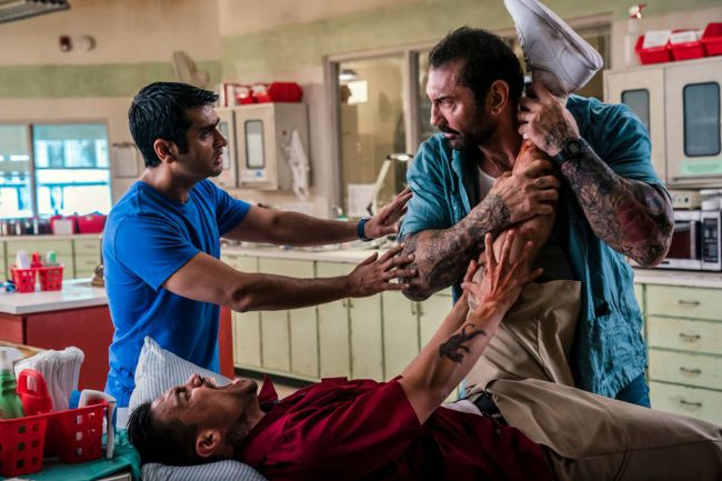 One of two Dave Bautista comedies this year, Stuber pairs him up with the hilarious Kumail Nanjiani in an unorthodox buddy cop film. Bautista plays LAPD Detective Vic, while Kumail plays Uber driver Stu who gets enlisted as his driver for a day of adventures across the city. Stuber is another film that received positive […]