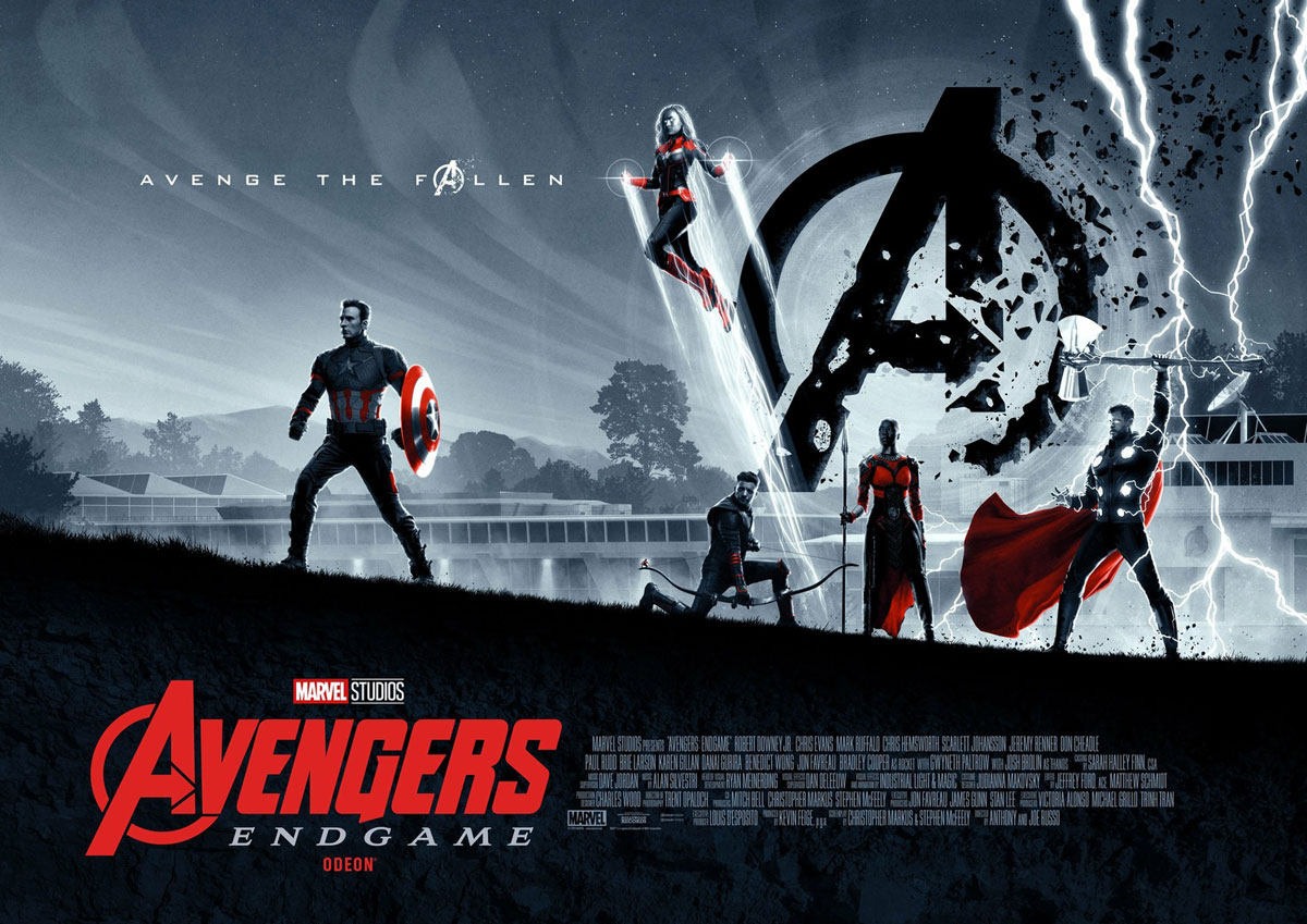 Avengers: Endgame full length poster