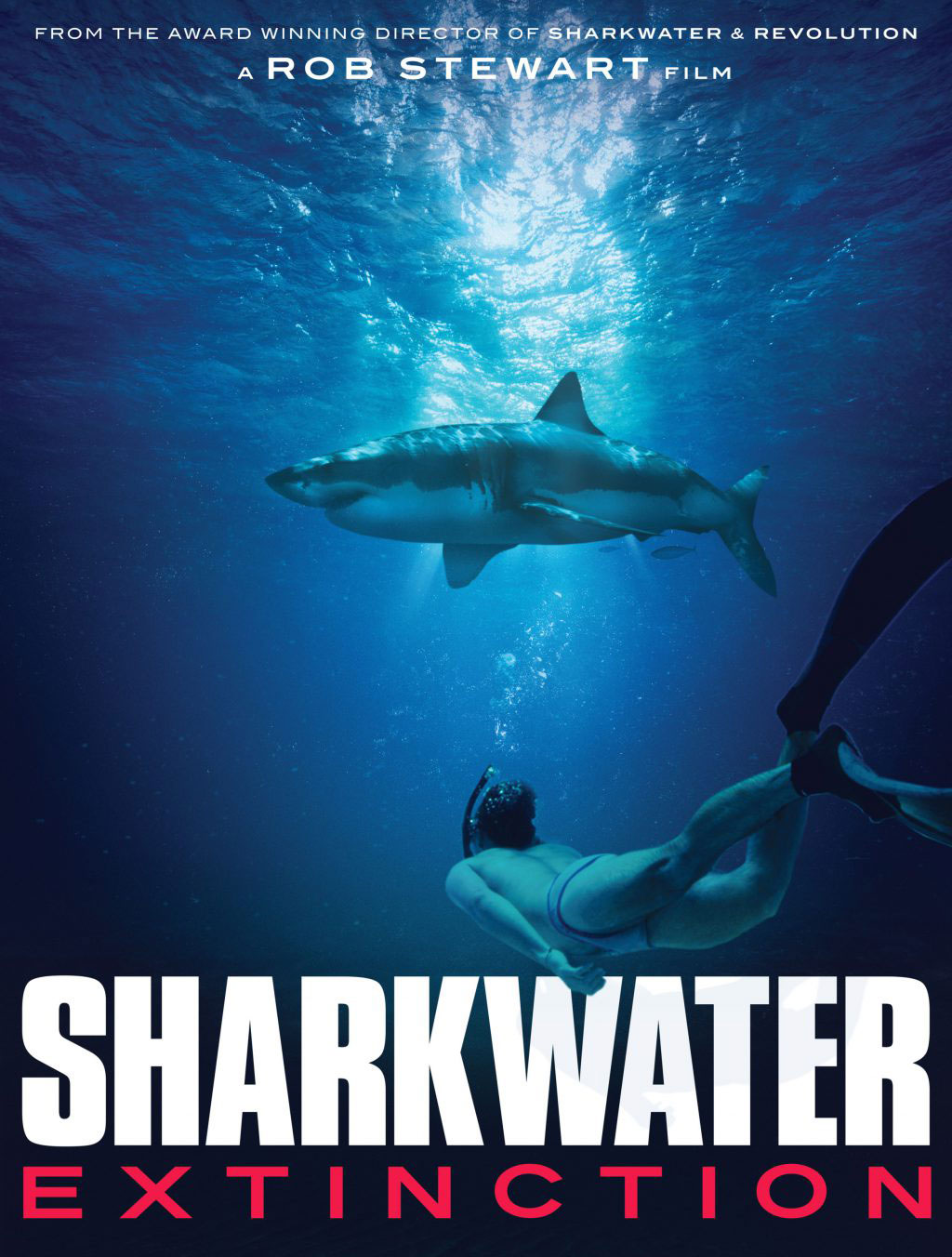 Sharkwater Extinction now on Crave TV!