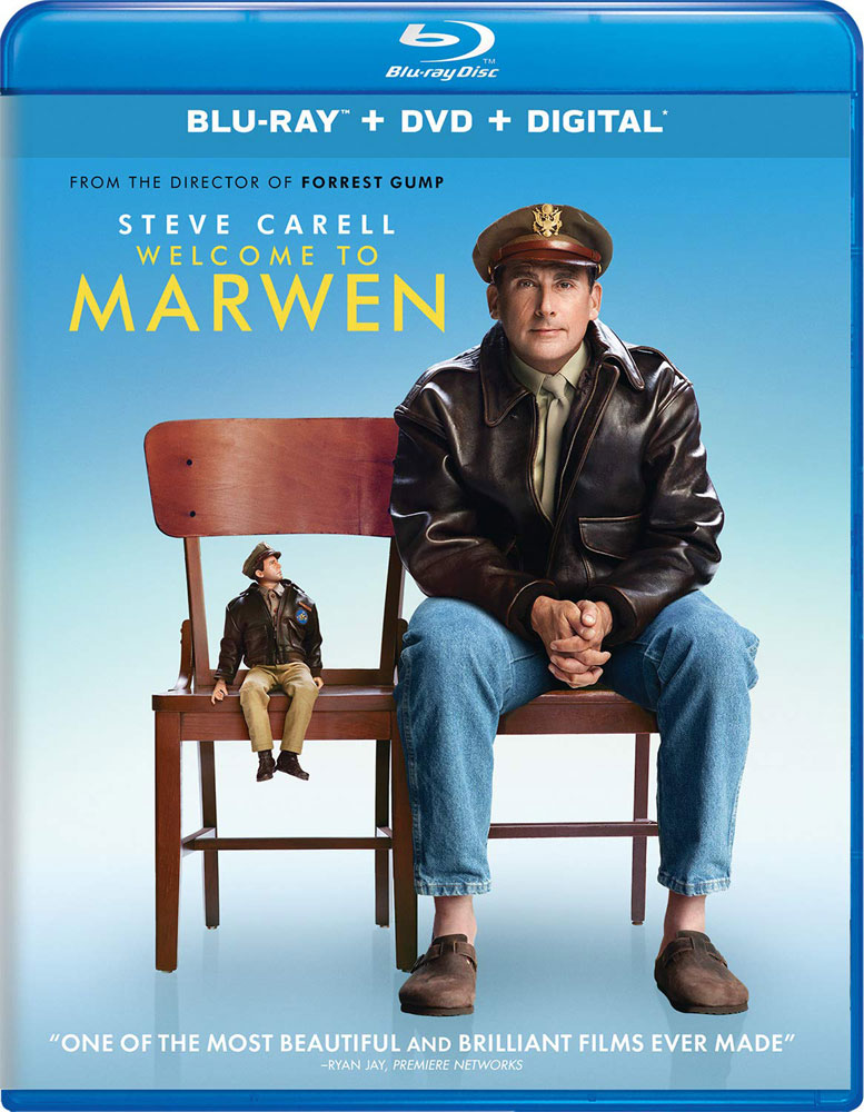 Welcome to Marwen on Blu-ray