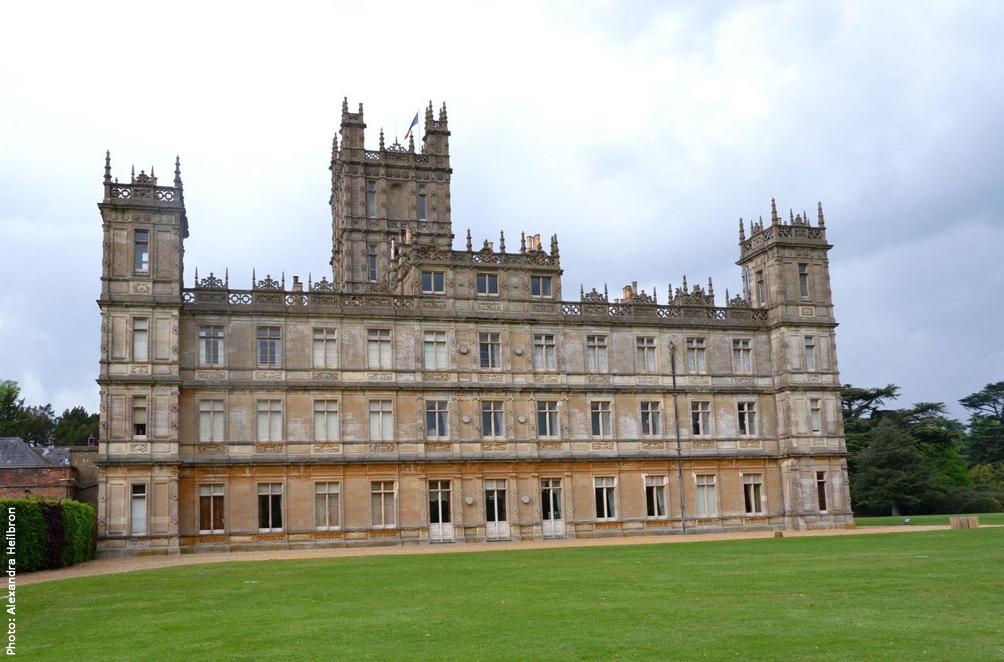 Downton Abbey, a.k.a. Highclere Castle