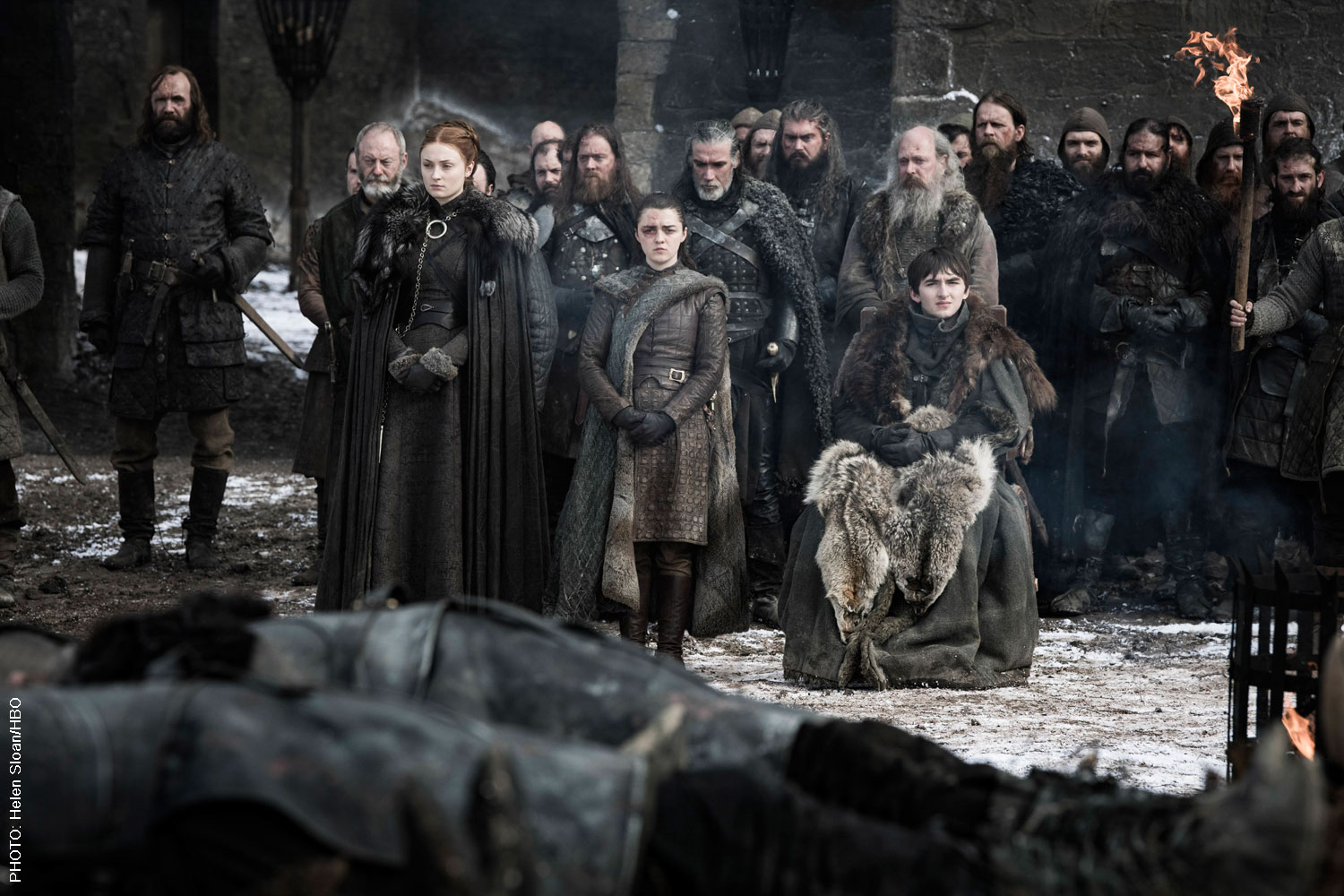 The Game of Thrones cast in Season 3, Episode 4