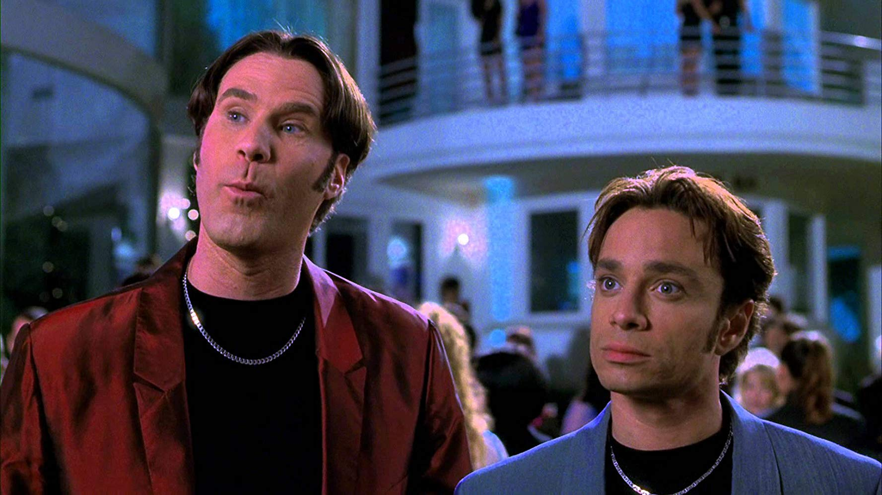 Will Ferrell (left) and Chris Kattan (right) in A Night at the Roxbury