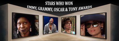 Stars Who Won Emmy, Grammy, Oscar & Tony Awards
