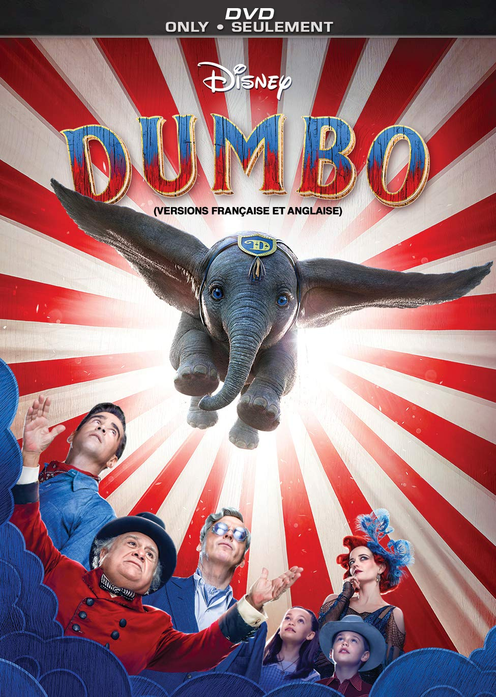 Dumbo, now available on Blu-ray and DVD