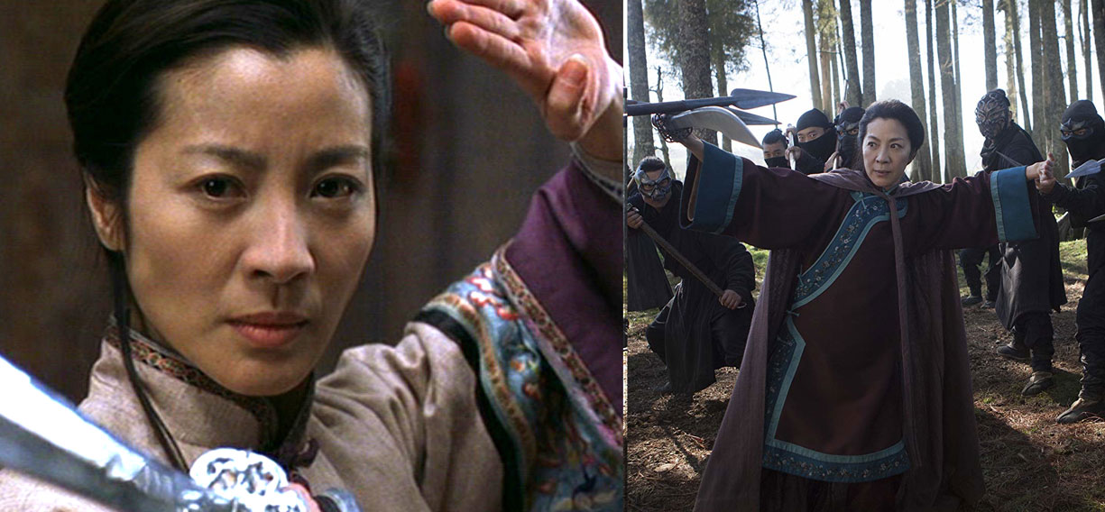 Crouching Tiger Hidden Dragon 2000 Crouching Tiger Hidden Dragon Sword Of Destiny 2016 16 Years Celebrity Gossip And Movie News