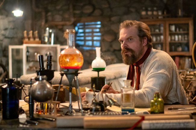 In this new mockumentary, Stranger Things star David Harbour uncovers lost footage from his father's televised stage play, Frankenstein's Monster's Monster, Frankenstein. Expect appearances by Alfred Molina, Kate Berlant, and more special guests as Harbour explores the depths of his family's acting lineage to gain insight into his father's legacy.