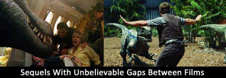Sequels With Unbelievable Gaps Between Films