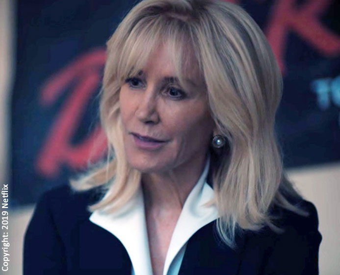 Felicity Huffman as Linda Fairstein in When They See Us
