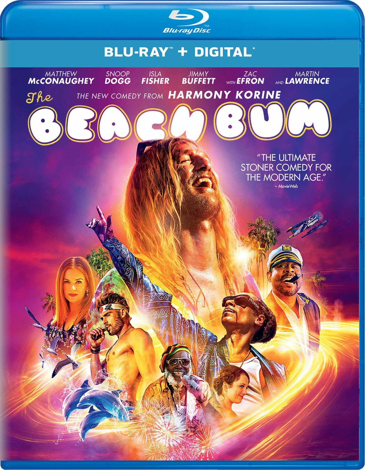 The Beach Bum, now available on Blu-ray and DVD