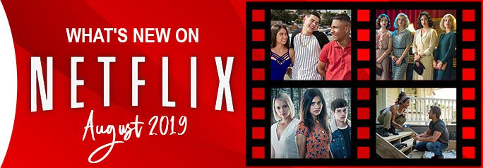 If the temps are too hot for you outside, it's always good to know you can come inside to the cool A/C and watch something brand new and original on Netflix. Check out the new series and films Netflix has for you to enjoy this August. ~Alexandra Heilbron