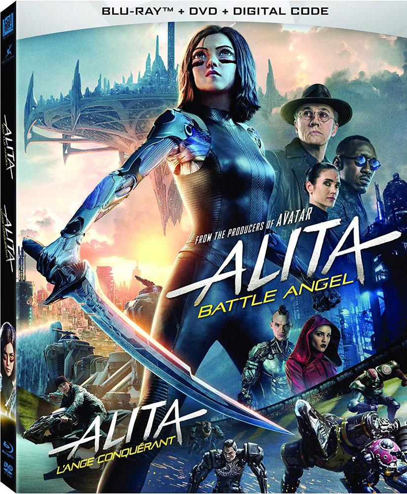 Alita: Battle Angel on Blu-ray