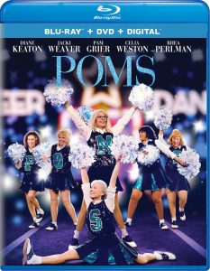 The comedy Poms on Blu-ray and DVD