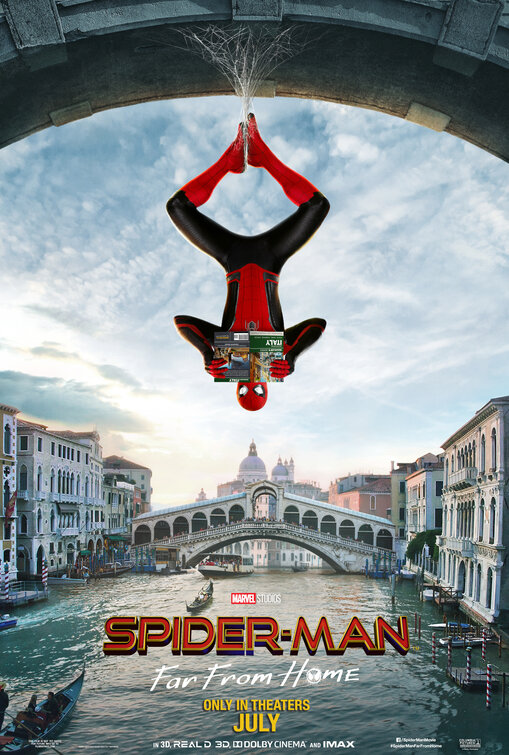 Spider-Man: Far From Home, now playing in theaters