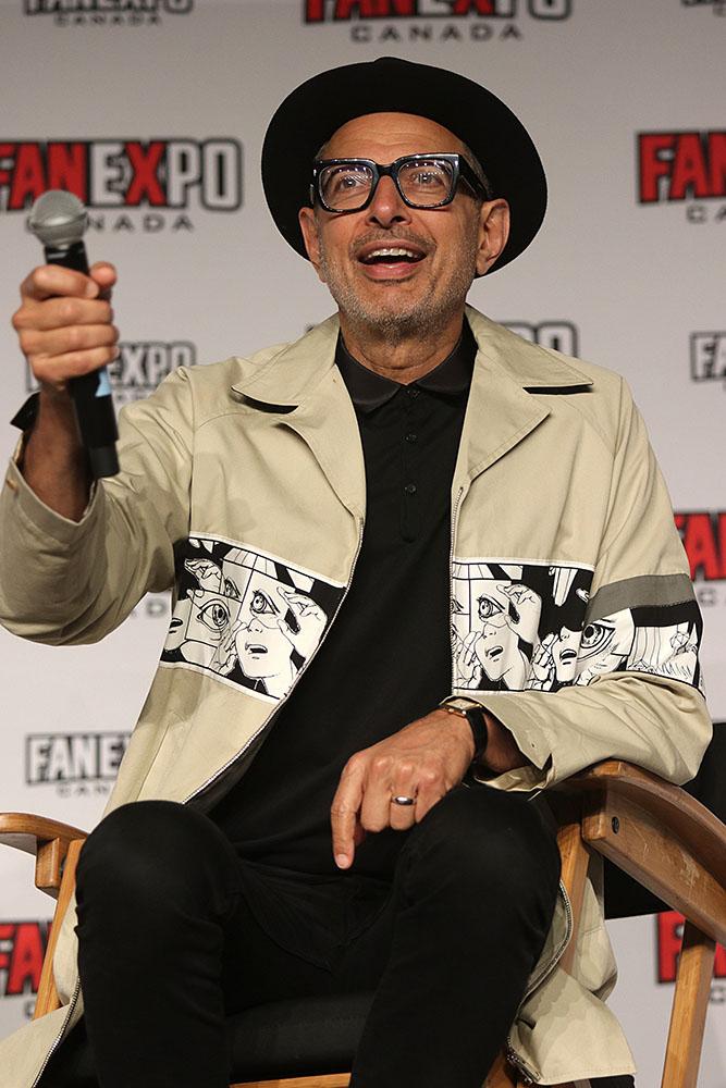 Jeff Goldblum at Fan Expo 2019
