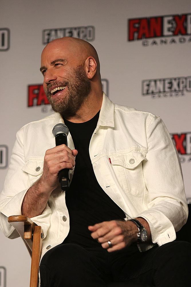 John Travolta at Fan Expo 2019