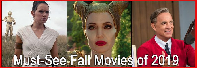 The fall season offers an extensive array of movies designed to fit everyone's tastes. Take a look at our list of the must-see fall movies of 2019. ~Emily Chavez